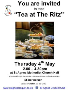 Poster for Tea at the Ritz