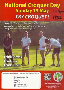 National Croquet Day